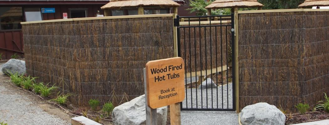 Woodfired hot tubs