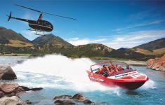 hanmer springs helicopter and jetboating