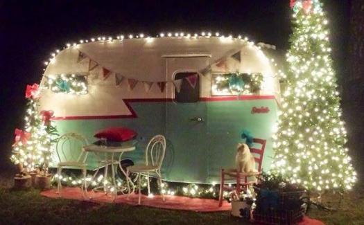 Christmas camping Hanmer Springs